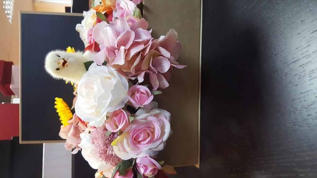 Cutie flori carte cu puisor 20180326_095108