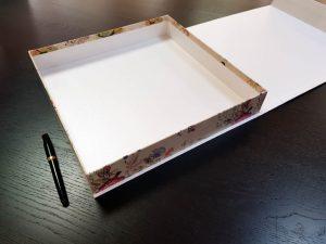 Cutie premium cu inchidere magnetica pentru cadouri (model 6083)