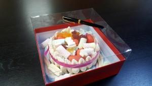 1 Cutie de lux  pentru tort, prajituri