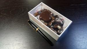 1 Cutie de lux pentru bijuterii, cercei, bratari, coliere, butoni, papioane