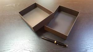 2 Cutii rigide pentru bijuterii