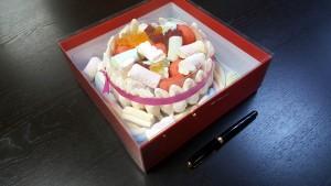 2 Cutie de lux  pentru tort, prajituri
