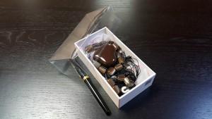 2 Cutie de lux pentru bijuterii, cercei, bratari, coliere, butoni, papioane