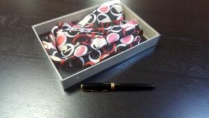 3 Cutie rigida pentru esarfe, cravate, bijuterii