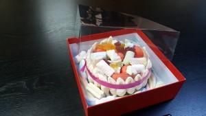 3 Cutie de lux  pentru tort, prajituri