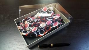 4 Cutie rigida pentru esarfe, cravate, bijuterii