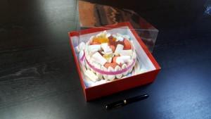 4 Cutie de lux  pentru tort, prajituri