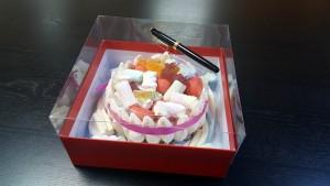 5 Cutie de lux  pentru tort, prajituri