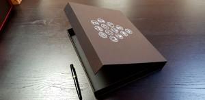 Cutie de lux cu inchidere magnetica - 11