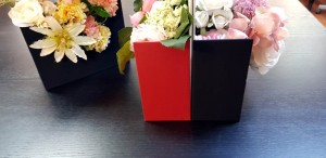 Cutie de lux in forma de plic pentru aranjamente florale - 12 Cutie de lux in forma de plic pentru buchete de flori