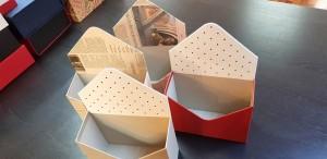 Cutie de lux in forma de plic pentru aranjamente florale - 13 Cutie de lux in forma de plic pentru buchete de flori
