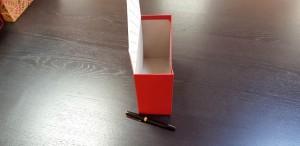 Cutie de lux in forma de plic pentru aranjamente florale - 17 Cutie de lux in forma de plic pentru buchete de flori