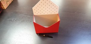 Cutie de lux in forma de plic pentru aranjamente florale - 18 Cutie de lux in forma de plic pentru buchete de flori