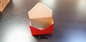 Cutie de lux in forma de plic pentru aranjamente florale - 19 Cutie de lux in forma de plic pentru buchete de flori