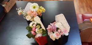 Cutie de lux in forma de plic pentru aranjamente florale - 2 Cutie de lux in forma de plic pentru buchete de flori