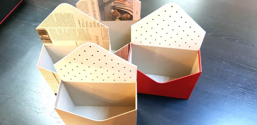 Cutie de lux in forma de plic pentru aranjamente florale - 20