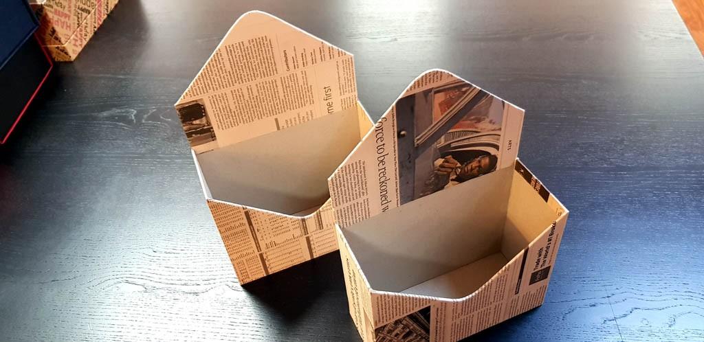 Cutie de lux in forma de plic pentru aranjamente florale - 21