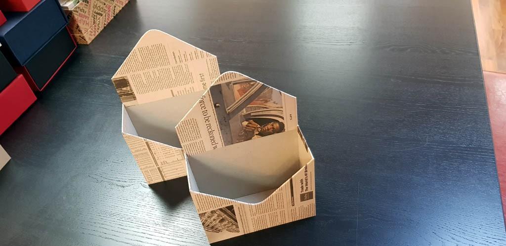 Cutie de lux in forma de plic pentru aranjamente florale - 22