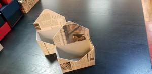 Cutie de lux in forma de plic pentru aranjamente florale - 22 Cutie de lux in forma de plic pentru buchete de flori