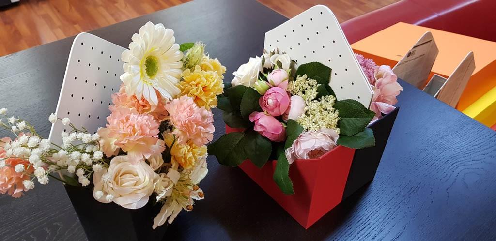 Cutie de lux in forma de plic pentru aranjamente florale - 3