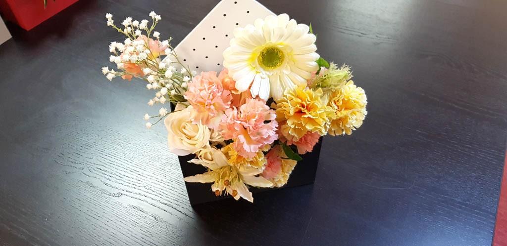 Cutie de lux in forma de plic pentru aranjamente florale - 5