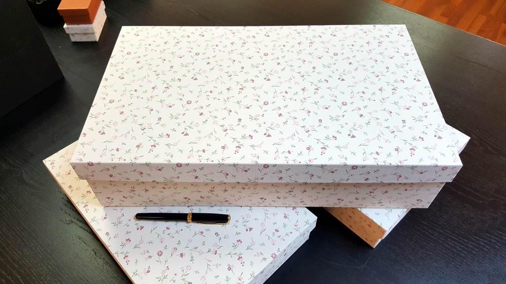 Cutie de lux pentru trusou botez fetite - 16
