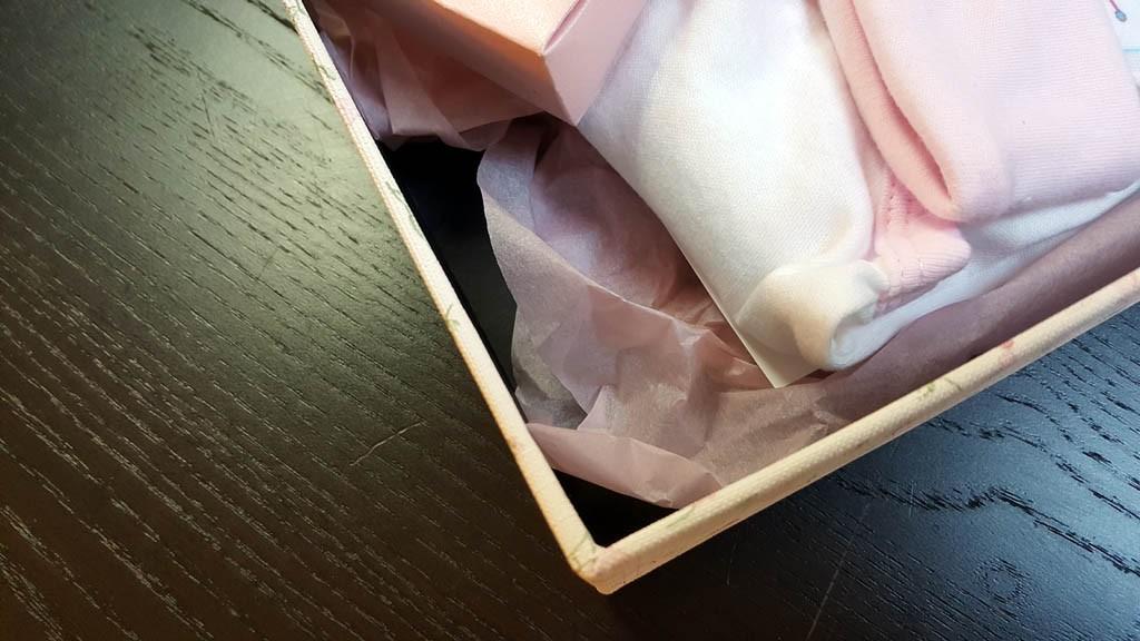 Cutie de lux pentru trusou botez fetite - 4