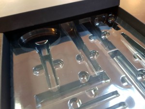 Cutie rigda cu capac pentru produse cosmetice - 4 Cutie rigda cu capac pentru seturi de produse cosmetice