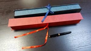 Cutie rigida cu panglica pentru o floare - 3 Cutie rigida cu panglica pentru o floare