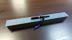 Cutie rigida cu panglica pentru o floare- 6 Cutie rigida cu panglica pentru o floare