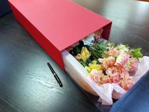 Cutie rigida de lux pentru flori - 1