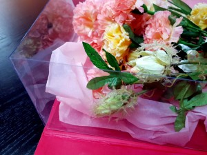 Cutie rigida de lux pentru flori - 8