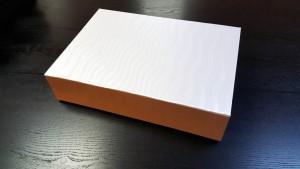 Cutie rigida pentru pantofi - 2 Cutie rigida pliabila pentru confectii