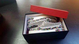 Cutie rigida pentru pantofi casual
