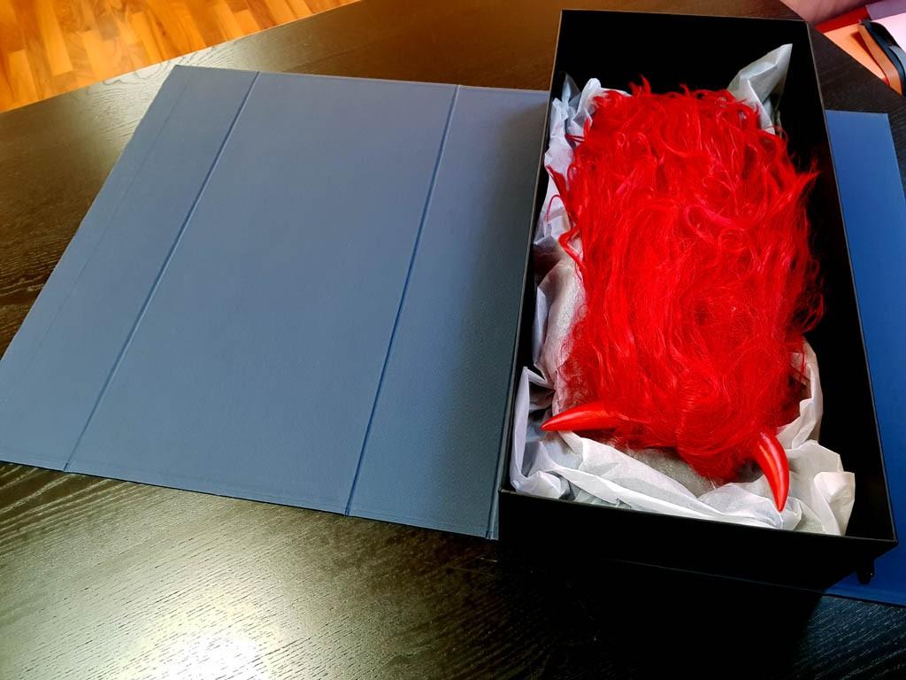 Cutie rigida pentru peruci - 5