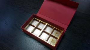 Cutie rigida pentru praline cu magnet - 8