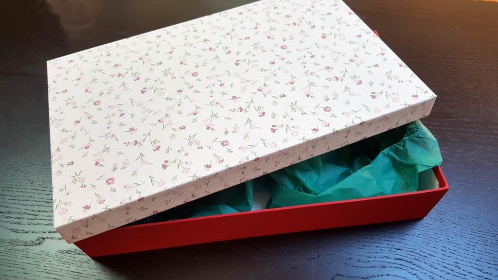 Cutie speciala pentru textile - 1