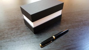 Cutii cu gat din carton dur (mucava) - 2