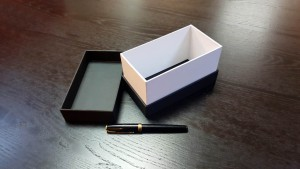 Cutii cu gat din carton dur (mucava) - 3