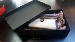 Cutie de lux pentru genti