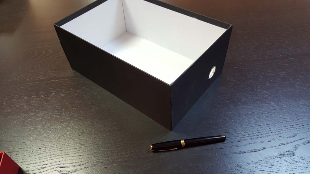 Cutia rigida cu capac pentru pantofi - 20
