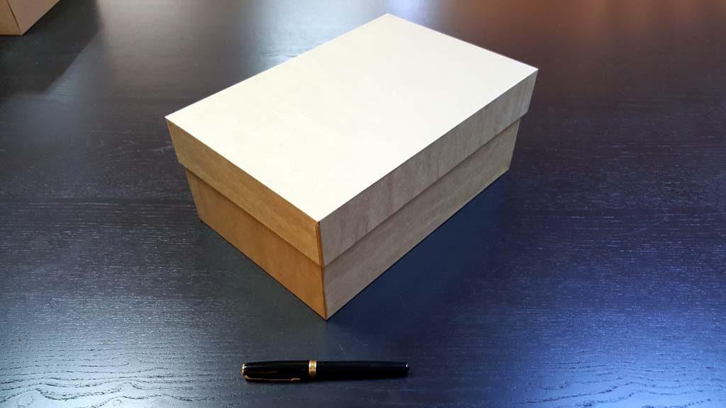 Cutia rigida cu capac pentru pantofi - 5