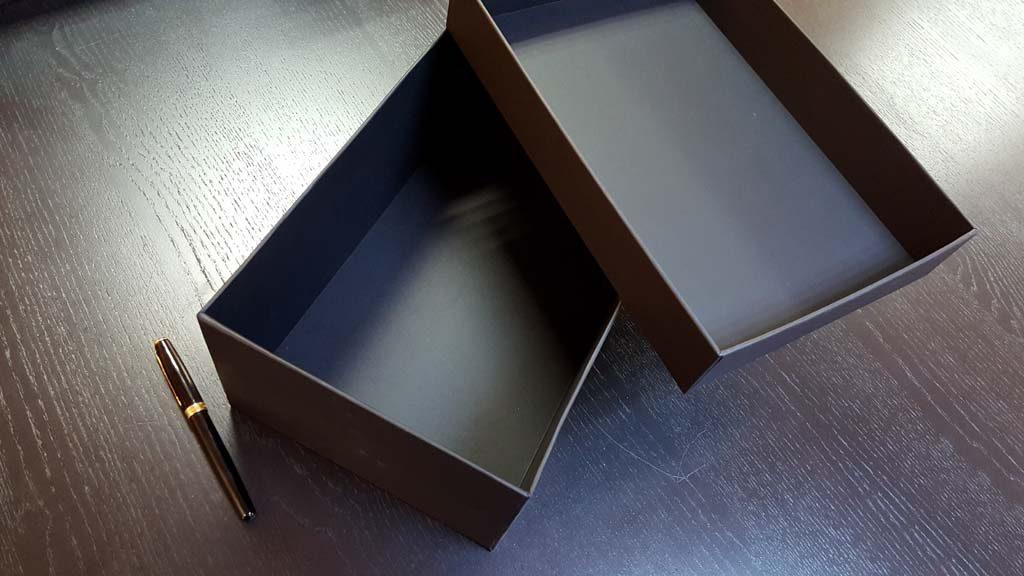 Cutia rigida cu capac pentru pantofi - 6
