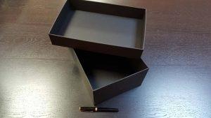 Cutia rigida cu capac pentru pantofi