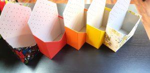 Cutie de lux in forma de plic pentru aranjamente florale (model 6069-6073).