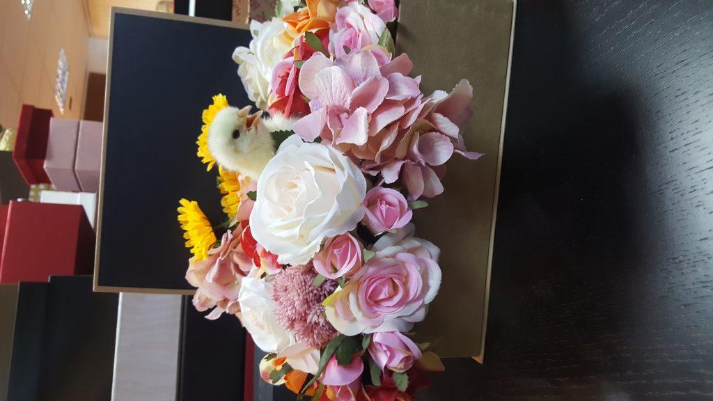 Cutie flori carte cu puisor 20180326_095050